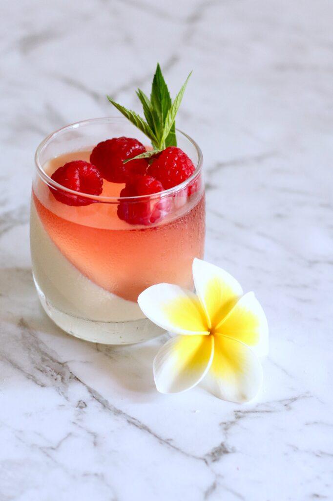 Pink Champagne Panna Cotta 1