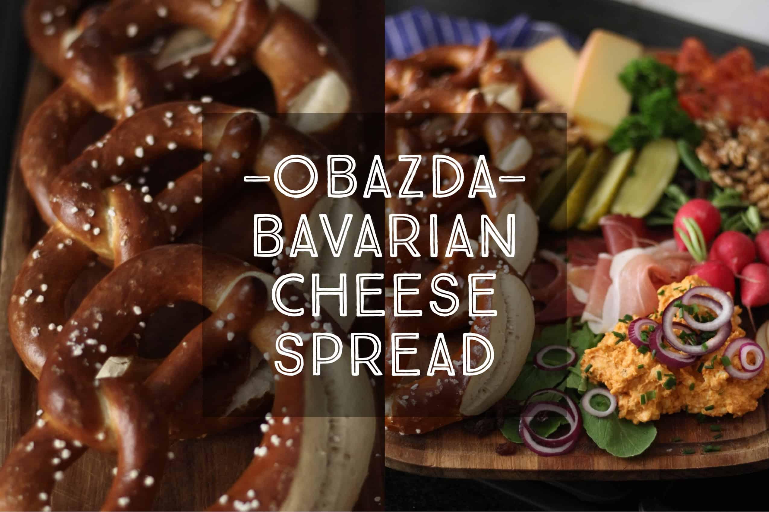 obazda bavarian cheese spread