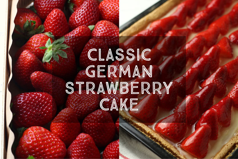 german strawberry cake