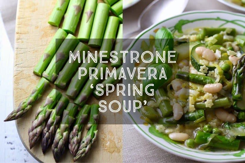 Spring Soup Minestrone Primavera