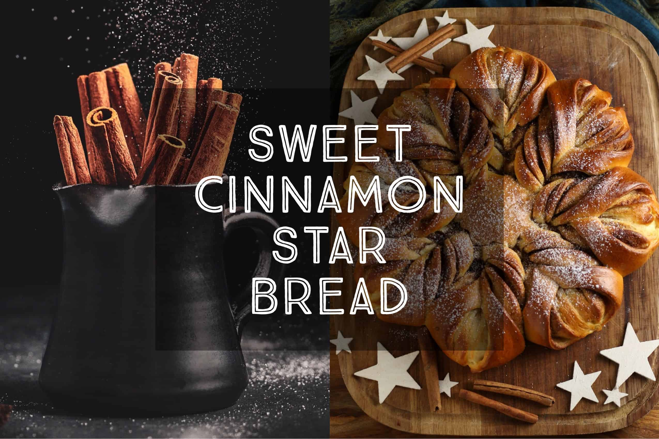 sweet cinnamon star bread