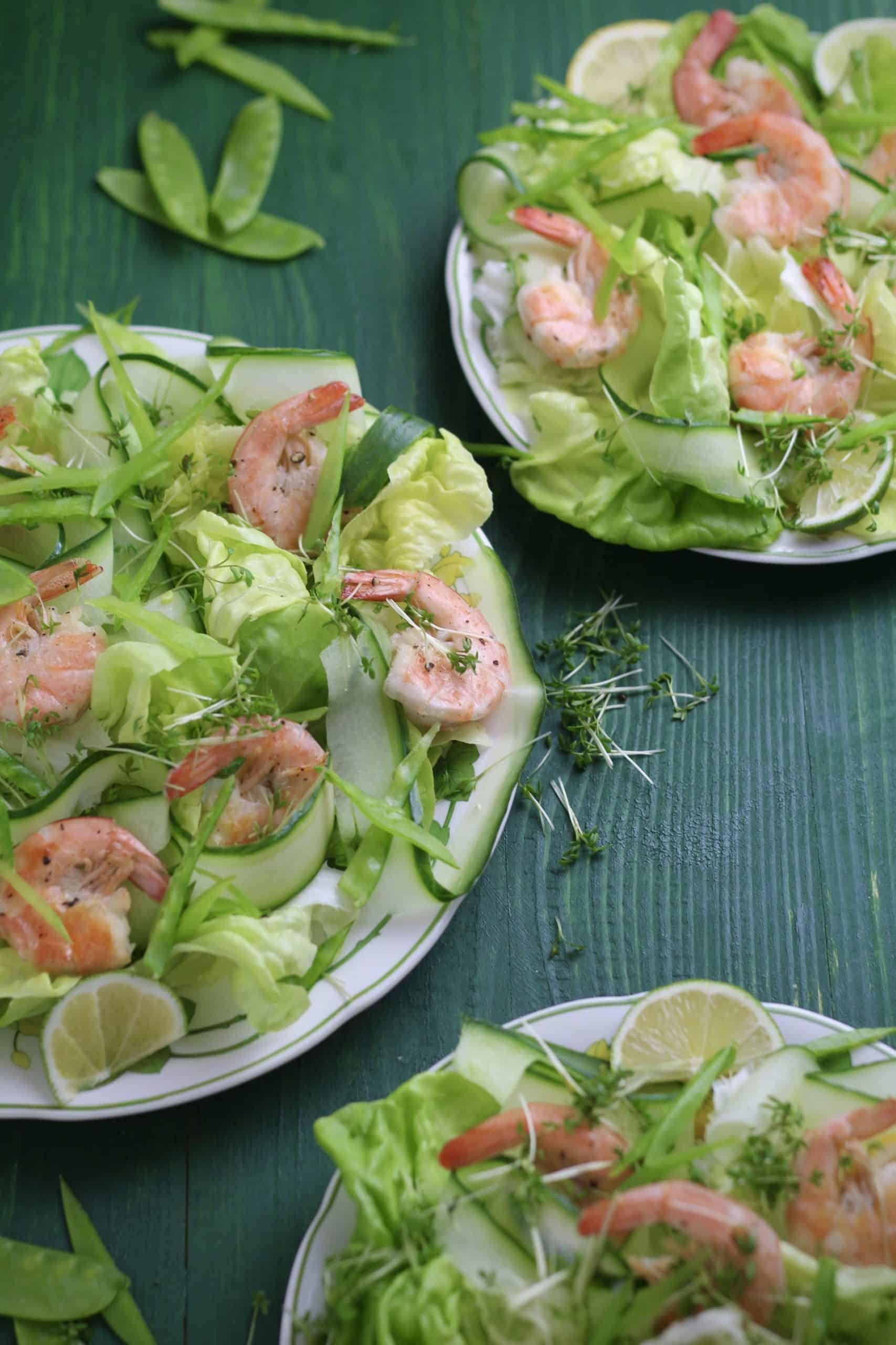 Spicy Prawn Cocktail Salad