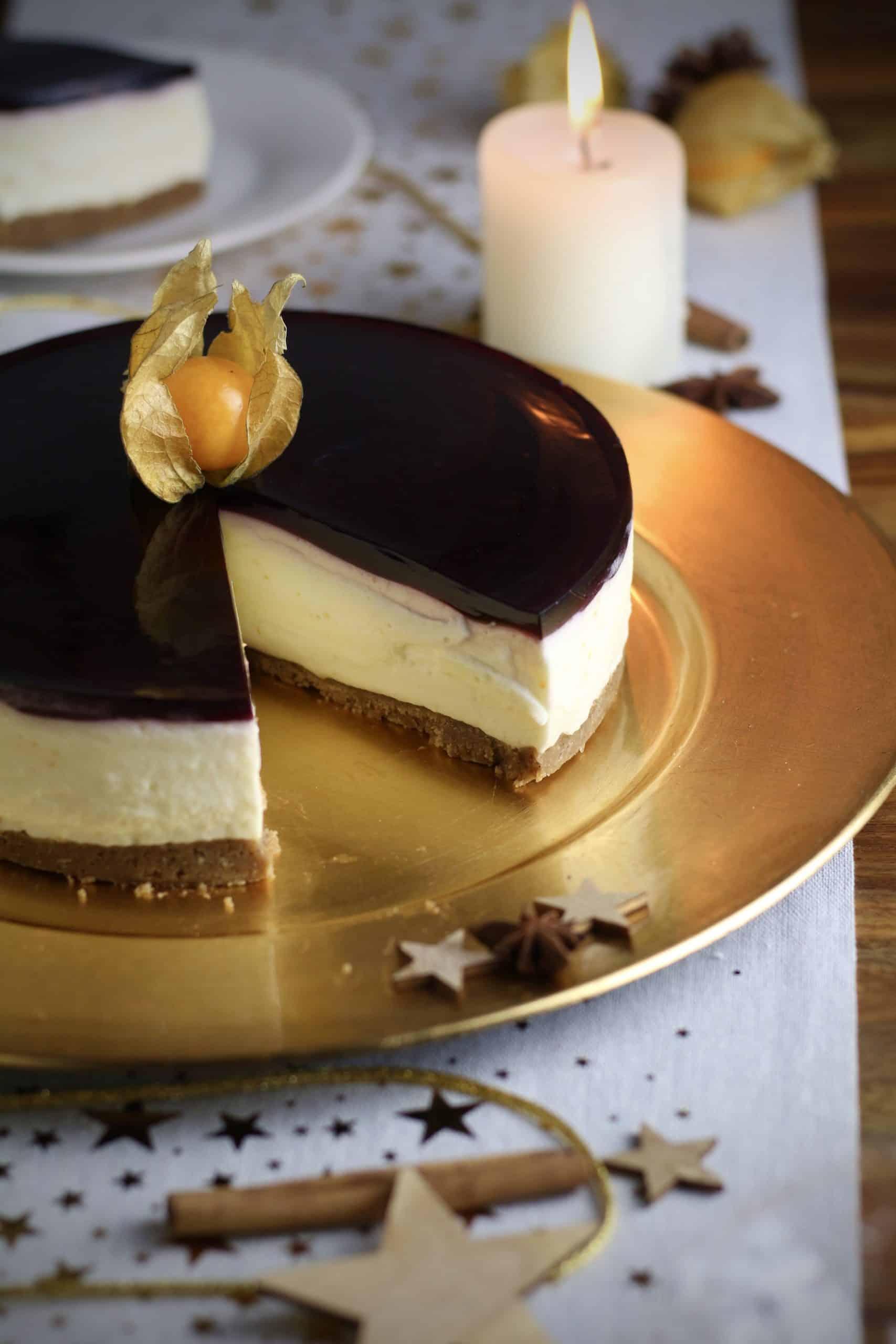 Mulled Wine Cheesecake