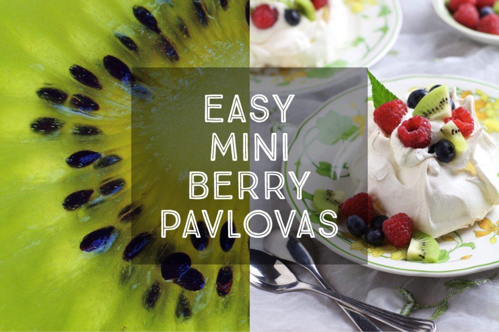 Easy Mini Berry Pavlova