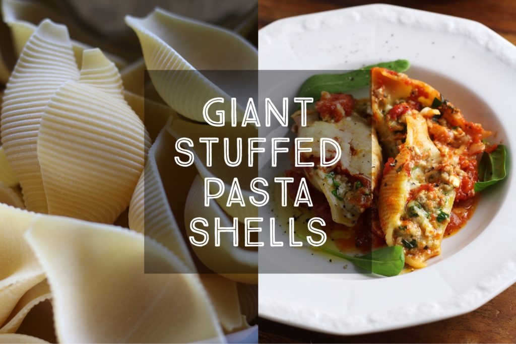 Giant Stuffed Pasta Shells