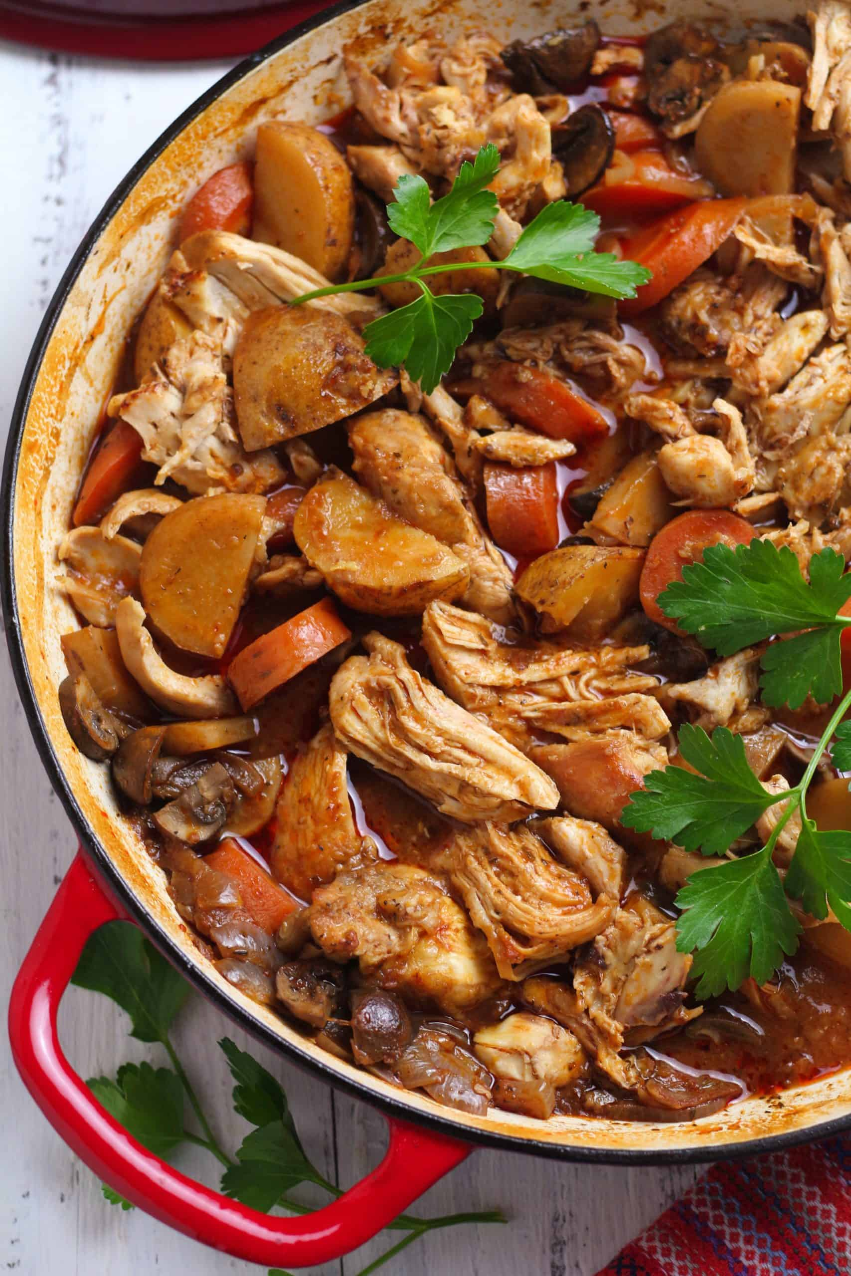 Hearty Classic Chicken Stew