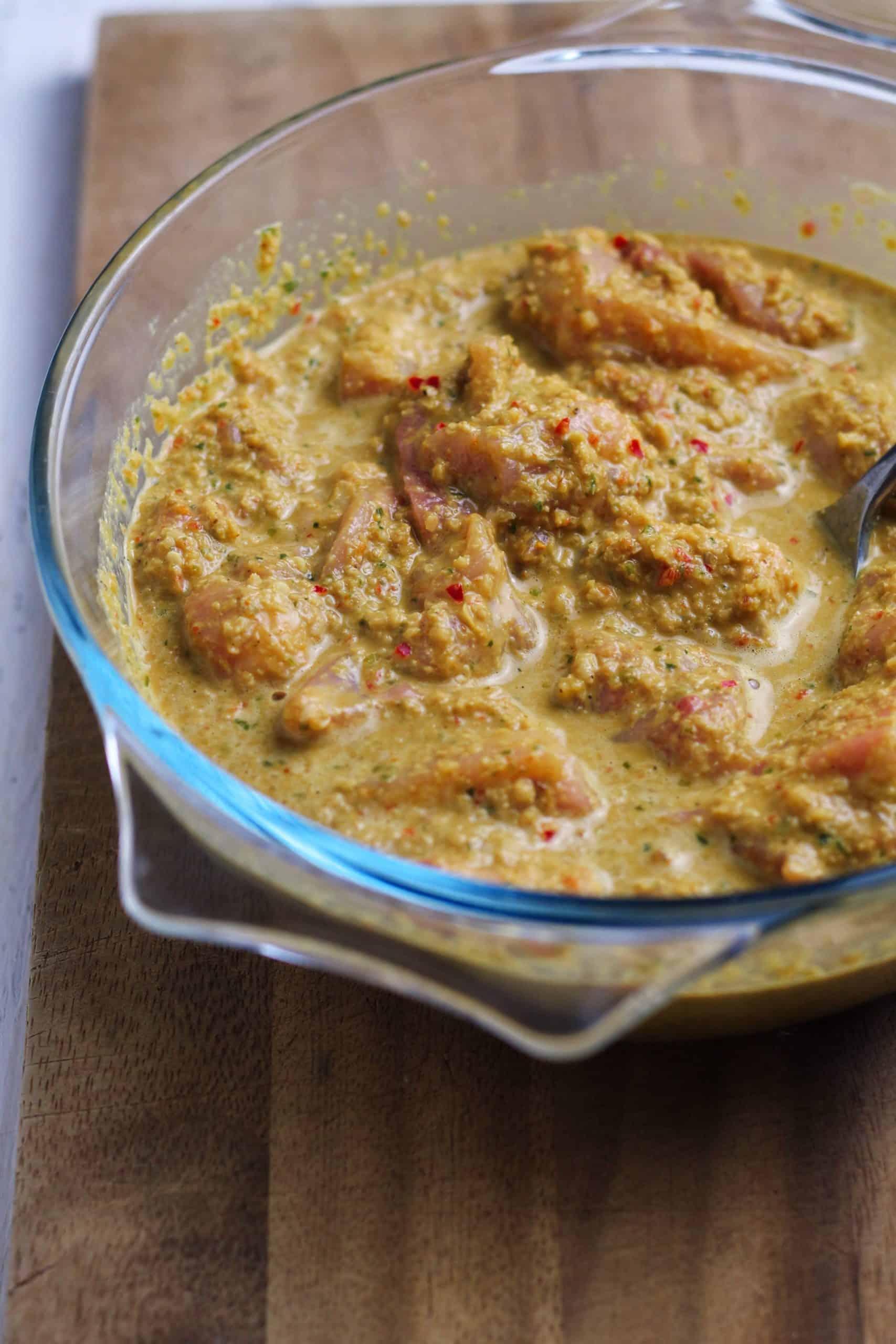 Chicken in Satay Marinade