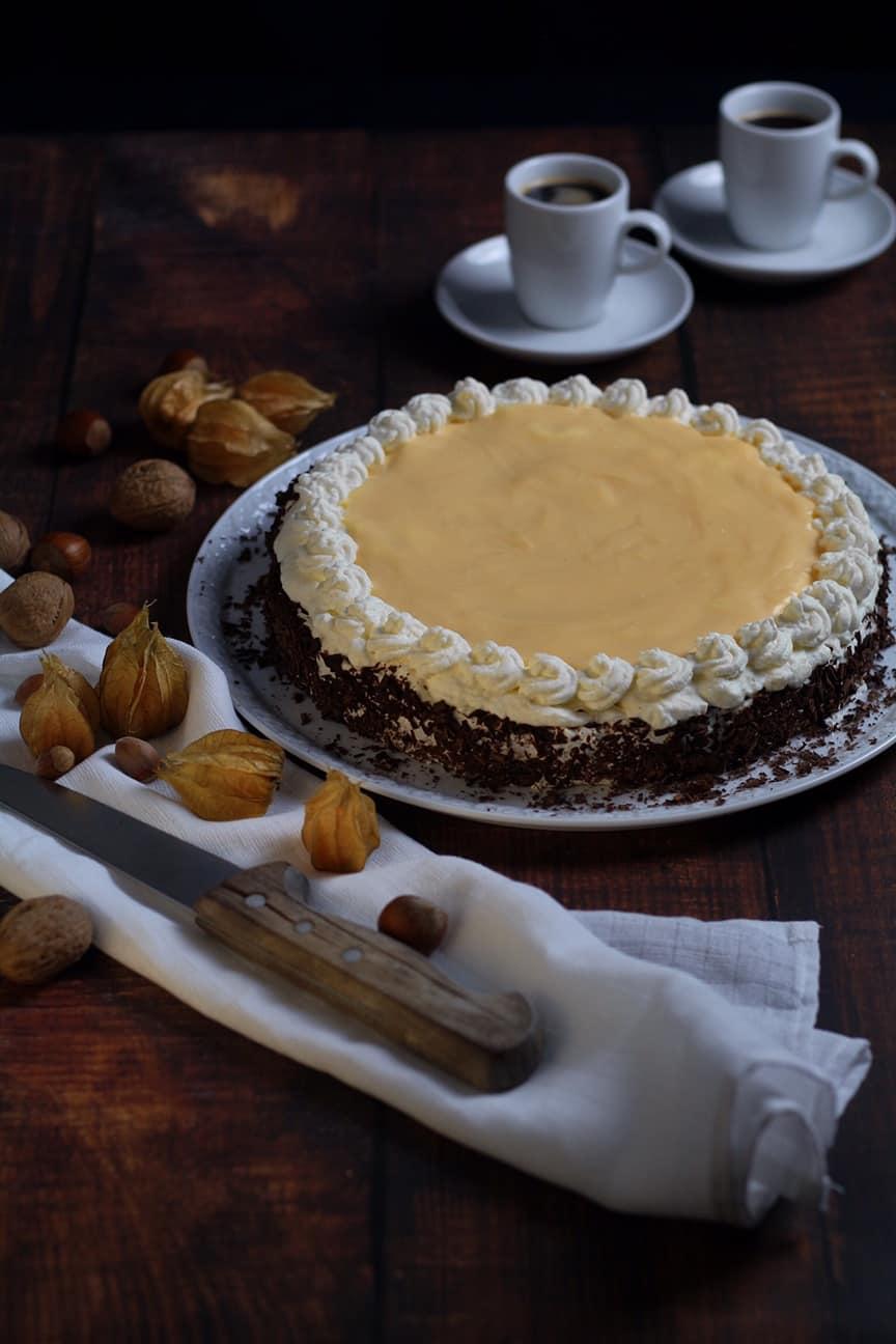 Eierlikörtorte Advocaat Cake