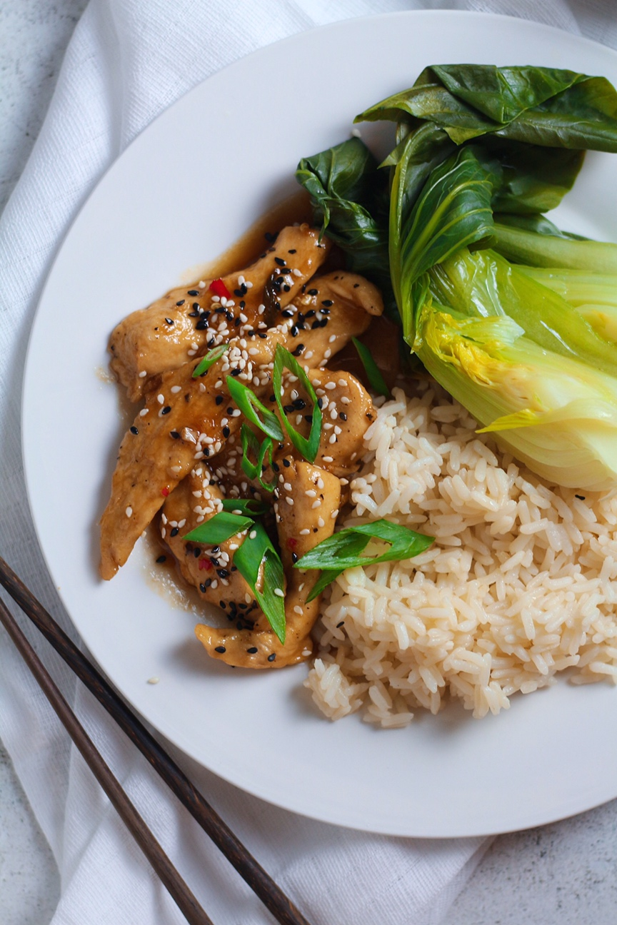 Honey and Ginger Chicken