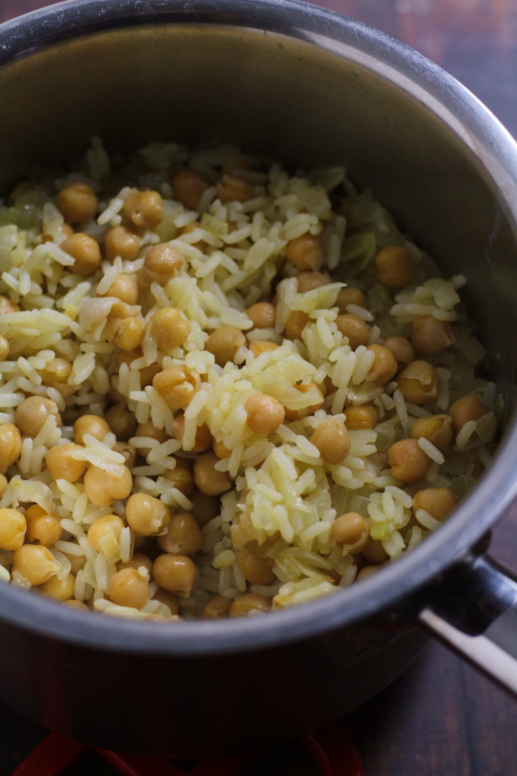 Rice and Chickpeas