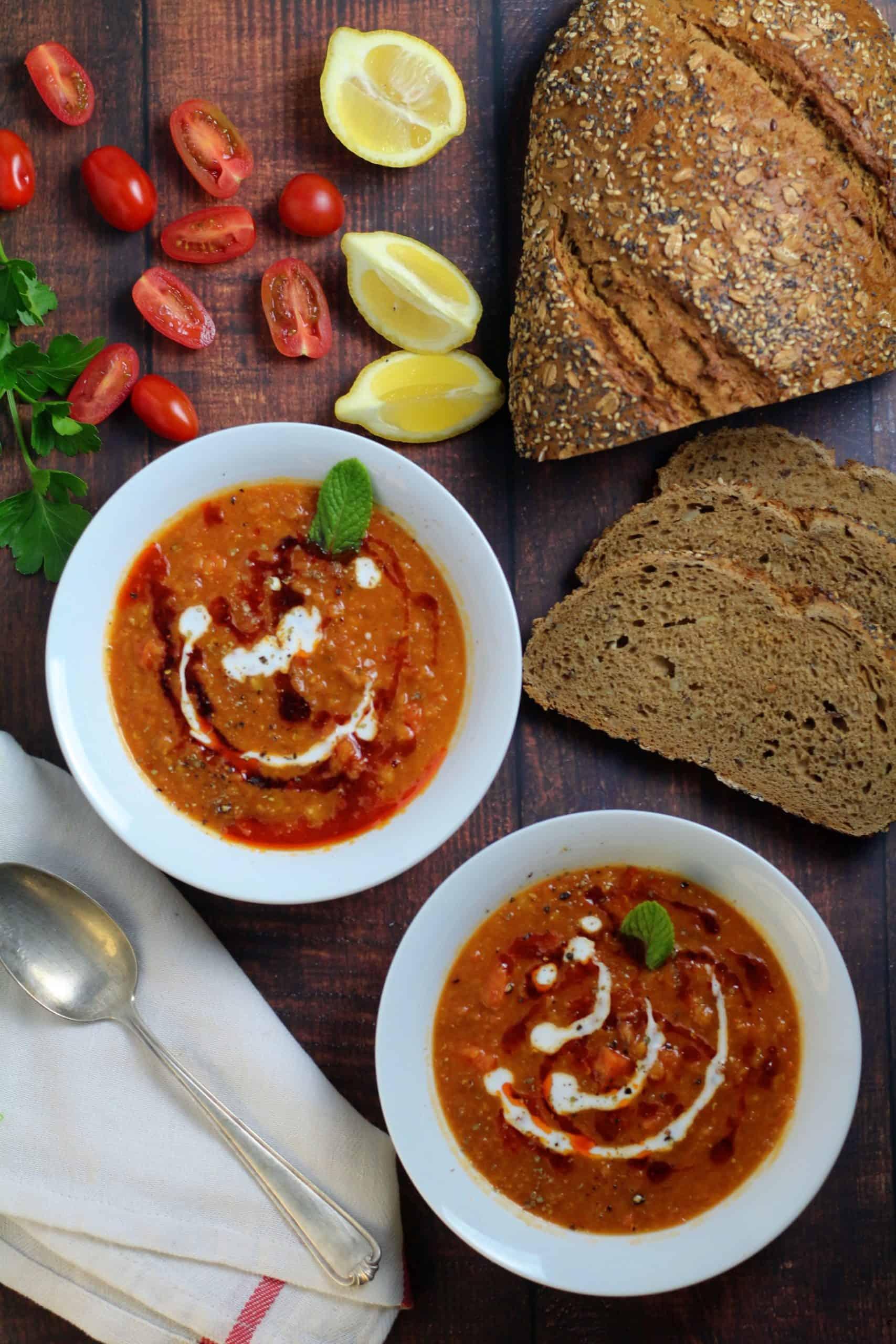 Turkish Red Lentil Soup