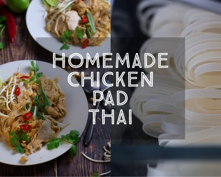 Homemade Chicken Pad Thai