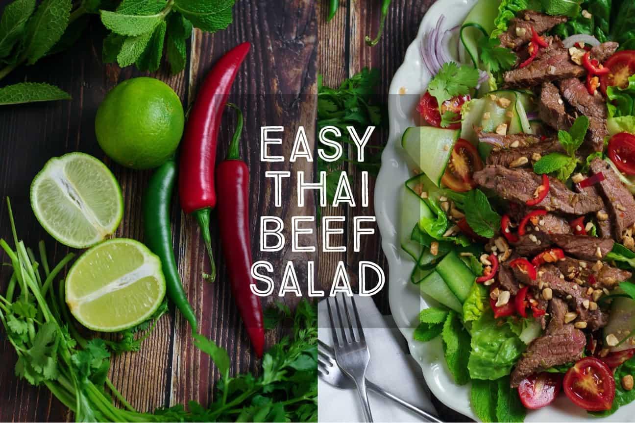 Easy Thai Beef Salad