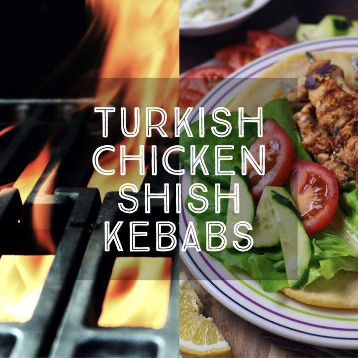 Turkish Chicken Shish Kebabs (Tavuk Siş)