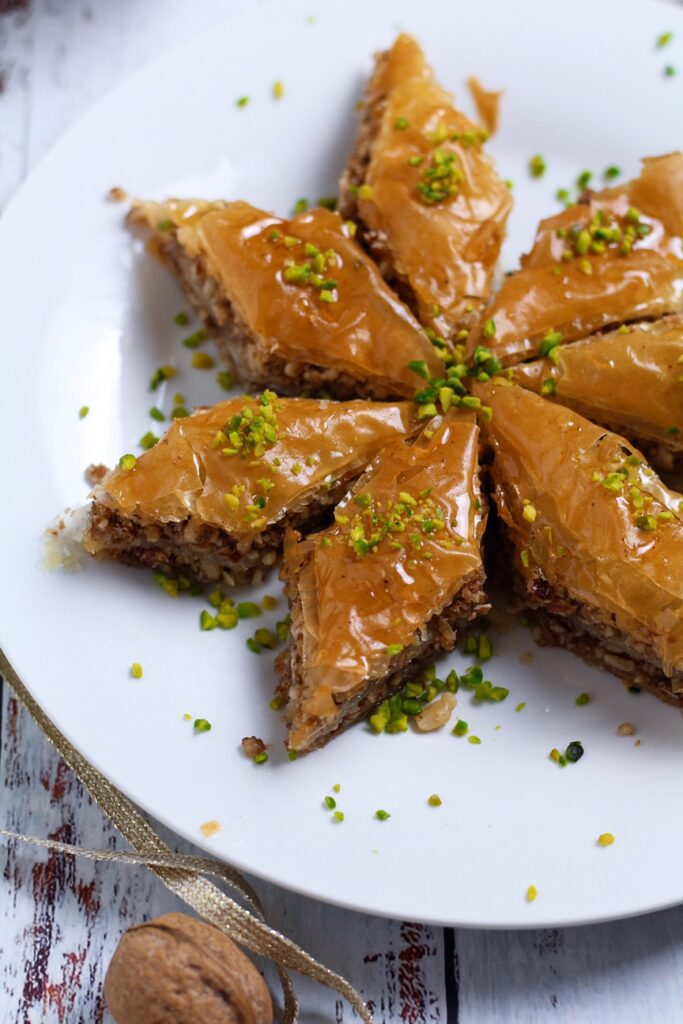 Walnut and Orange Blossom Baklava