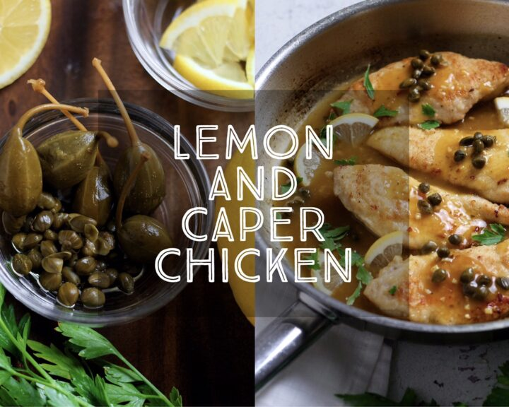 Lemon and Caper Chicken