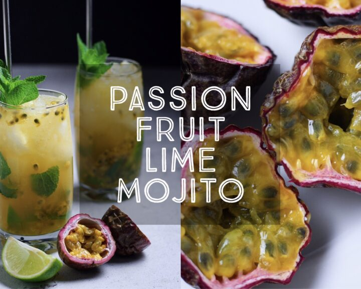 Passionfruit Lime Mojitos