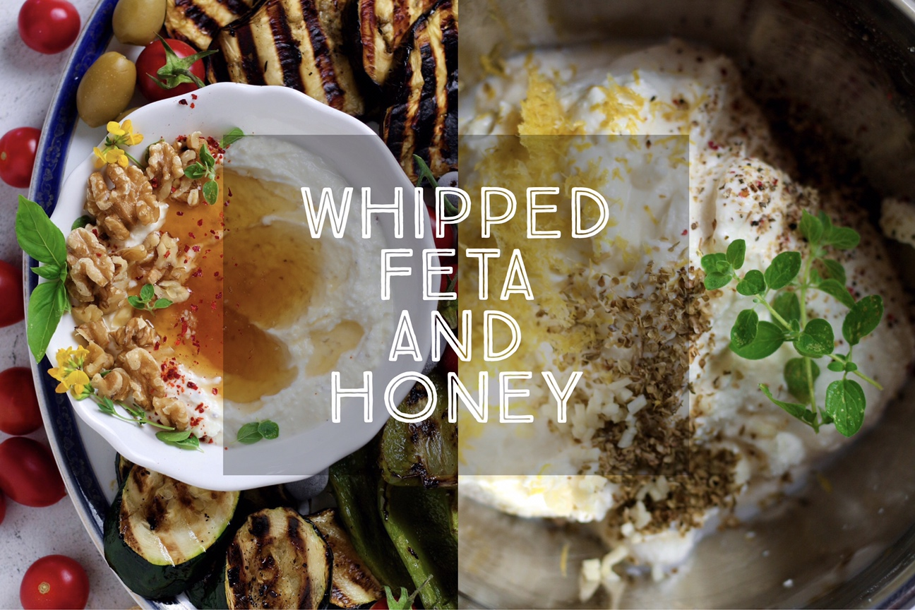 How To Make Whipped Feta and Honey — Days of Jay