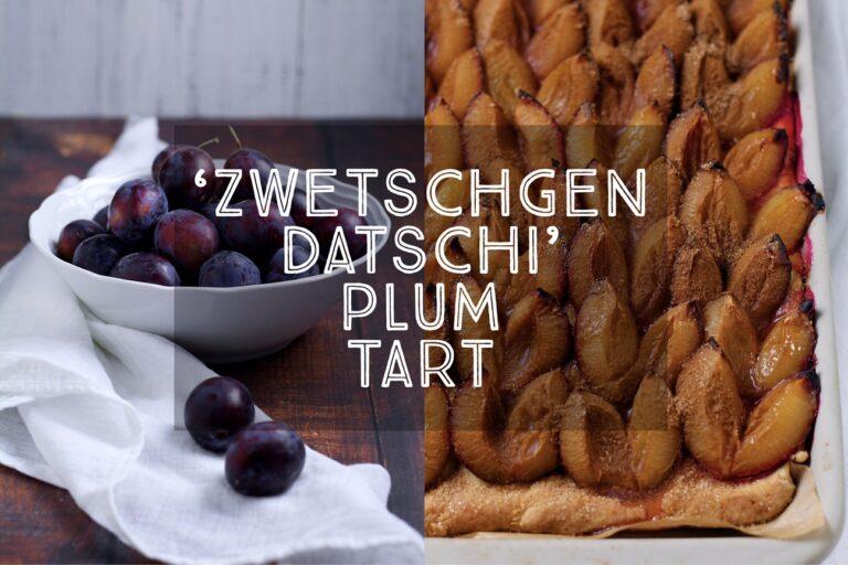 Zwetschgendatschi Bavarian Plum Tart