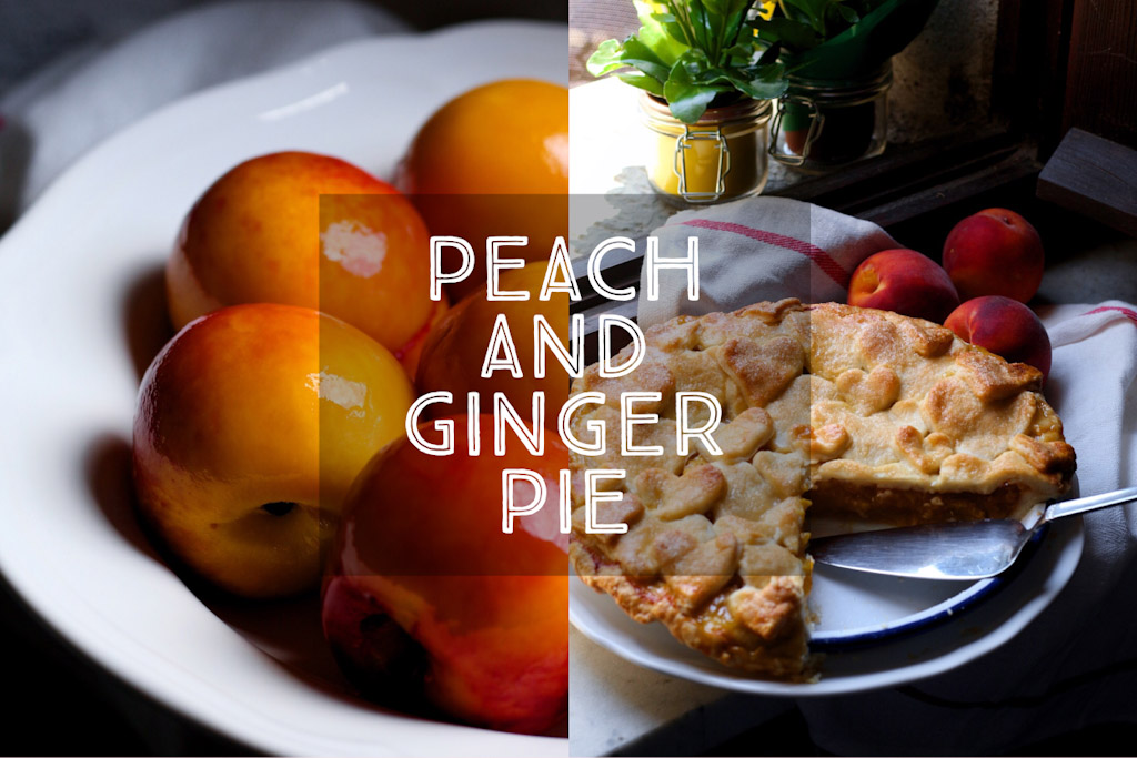 Peach and Ginger Pie
