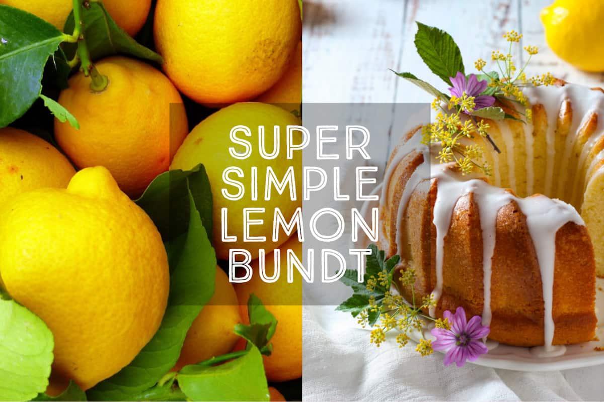 simple lemon bundt cake